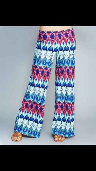 leggings wide-leg pants multi colored