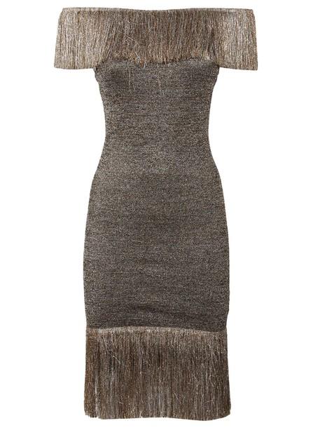 CHRISTOPHER KANE dress fringed dress