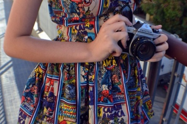 dress marvel comic book