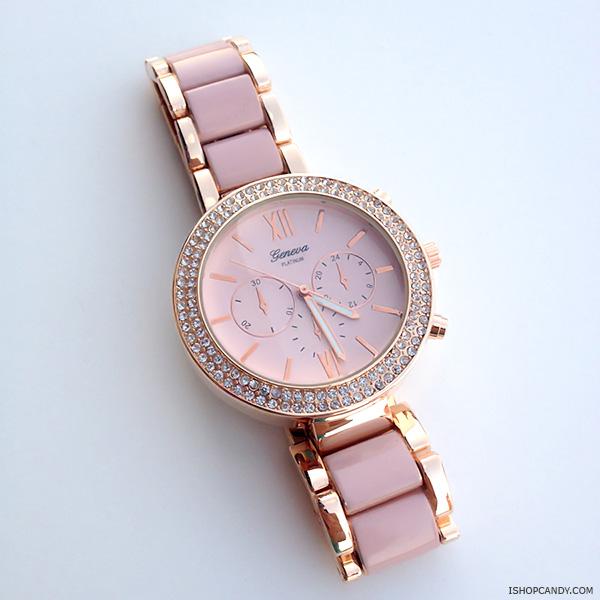 Elegant bracelet watch