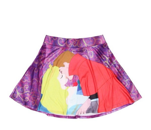 skirt disney sleeping beauty disney princess first kiss true love