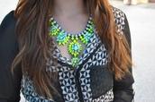 jewels,shourouk,neon,pink,light blue,aliexpress,free shipping,statement necklace