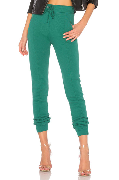 Wildfox Couture green pants