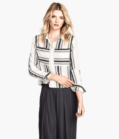 H&M Patterned Blouse $24.95