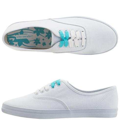 Womens - City Sneaks - Women s Canvas Bal Sneaker - Payless Shoes