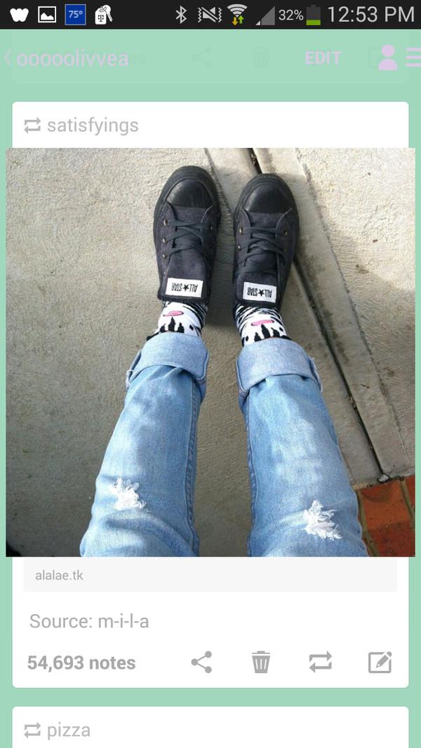 jeans ripped jeans cuffed jeans boyfriend jeans