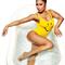 New nicki minaj smiling face sexy bathing suit smile face emoji swimwear bodysuit women low back swimsuit one piece swim suits on aliexpress.com | alibaba group