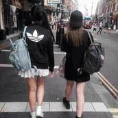 jacket,black,white,t-shirt,skirt,adidas,kawaii dark,kawaii grunge,pale grunge,pale,soft grunge,soft ghetto,backpack,converse,platform shoes,fashion,bag,atropina