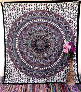home accessory home decor tumblr purple goal mandala