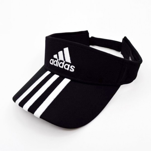 hat tennis fashion black cool summer adidas black and white style trendy  sportswear sporty boogzel 2a04e34d668