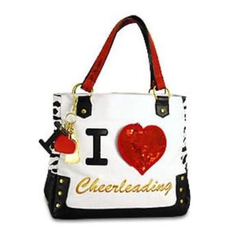 bag purse cheer cheerleading cheerleader iheartcheer cheer bow sequins rhinestone