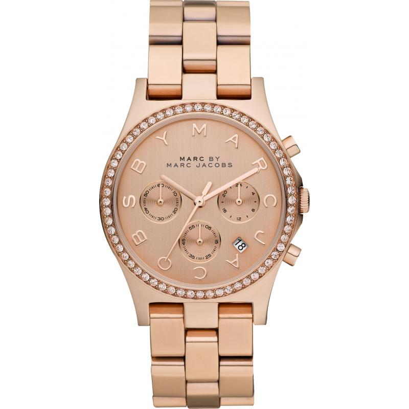bc248ea80110e Marc by Marc Jacobs Henry Glitz Chronograph MBM3118 Watch ...