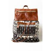 bag,tribal pattern,leather,backpack