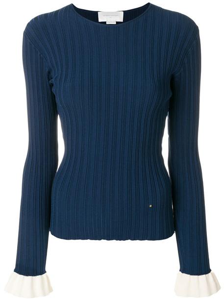 Esteban Cortazar sweater women cotton blue