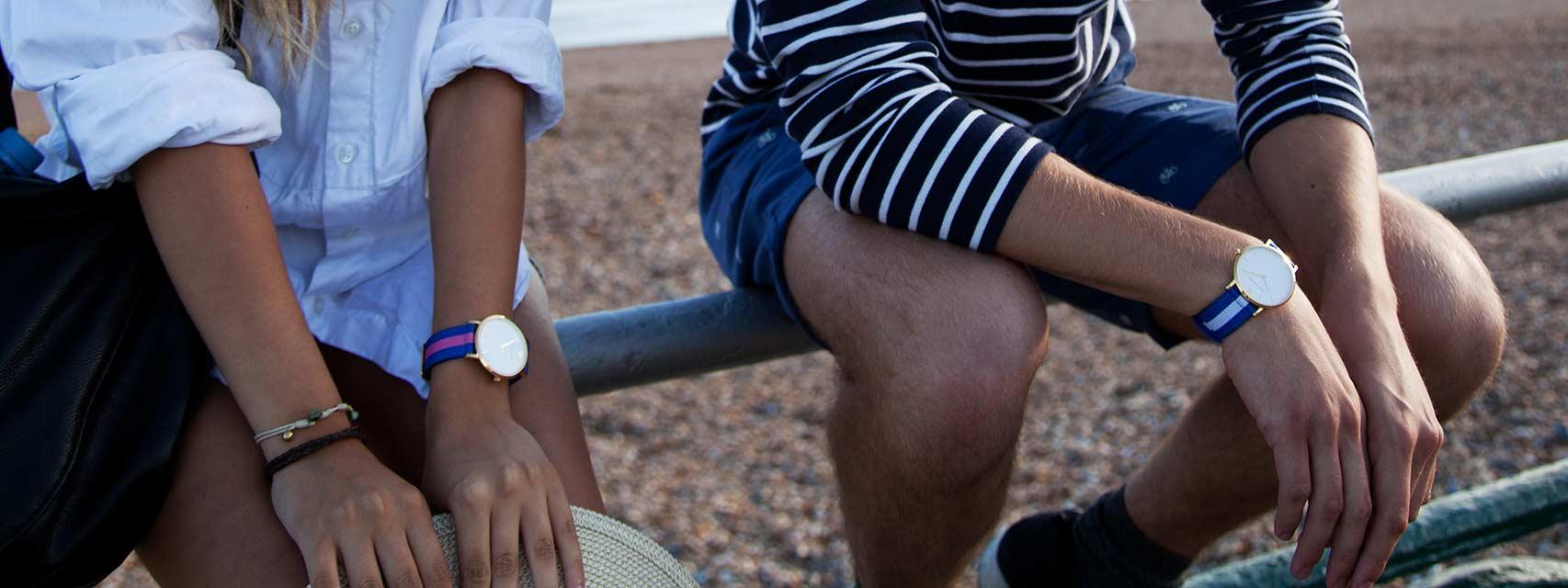Contemporary watches fusing swedish minimalistic design & british heritage. an inspiration of sthlm & ldn