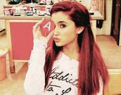 sweater,ariana grande,addicted to love,shirt,girl,top,pink,red,bag