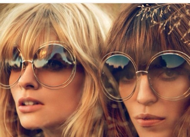 big sunglasses  Sunglasses: round sunglasses, big sunglasses - Wheretoget