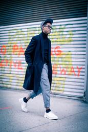 closet freaks,blogger,jeans,cap,menswear,mens coat