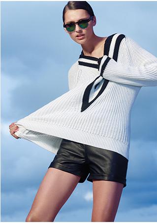 rag & bone/JEAN Murphy Sweatpants: Grey   Shop IntermixOnline.com