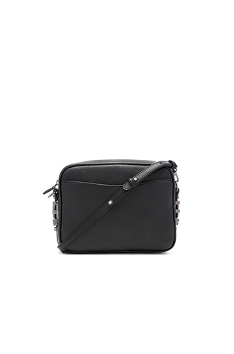 bag black black bag black leather camera bag crossbody bag chain bag