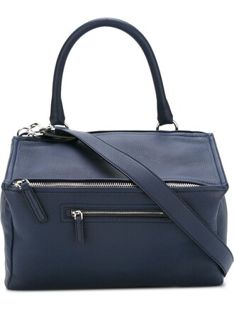 women bag tote bag blue