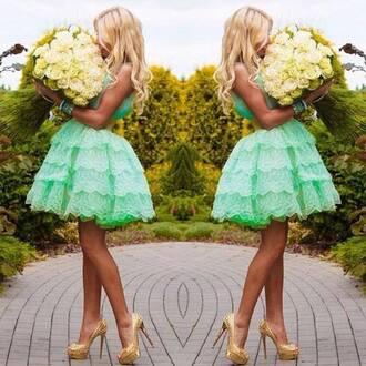 dress green dress mint dress homecoming dress prom dress cocktail dress mint