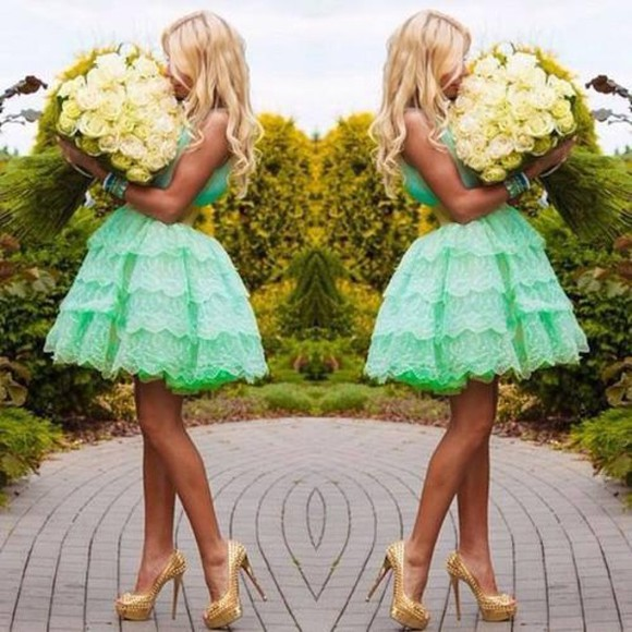 mint dress prom dress green dress mint green dress mint dress homecoming dress cocktail dress