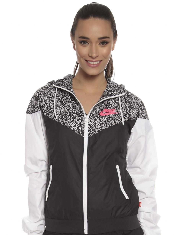 27aaa2e9d7 Nike Windrunner Jacket Women s Black And White unit4motors.co.uk