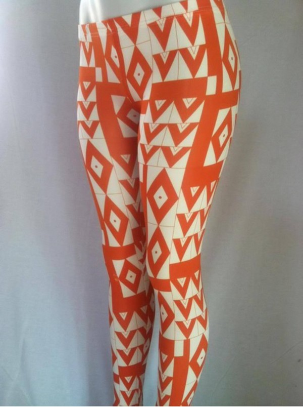 leggings printed leggings geometric leggings trendy geometric patterned pants trendy pants
