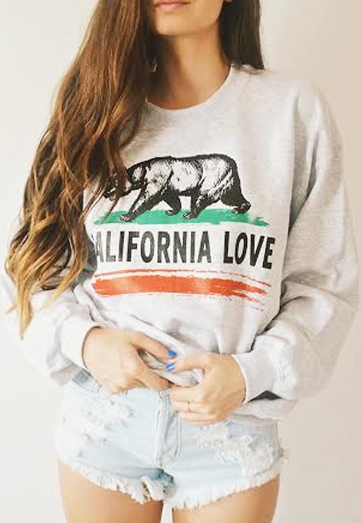 California love crewneck