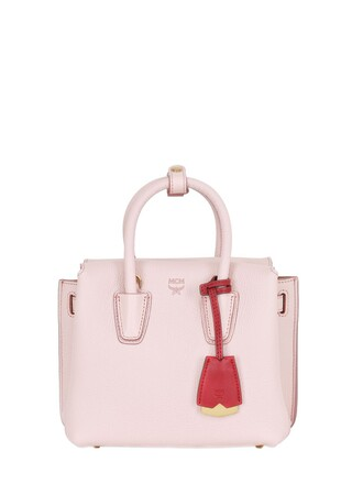 mini bag shoulder bag leather light pink light pink