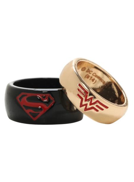 superman and wedding bands