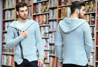 sweater grey sweater vintage mens