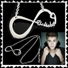 New★justin Bieber I'M A Belieber Infinity Pendant Necklace★i Love Jb★fever★gift★ | eBay