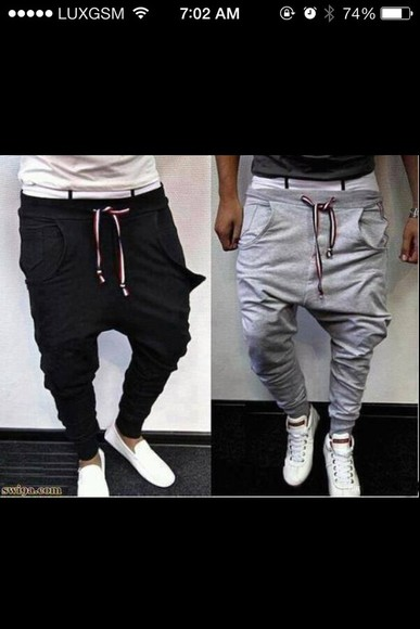 grey pants jogging joggingpants