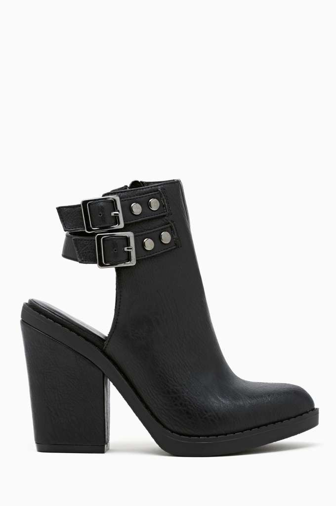 Shoe Cult Kade Cutout Bootie in  Shoes Booties at Nasty Gal