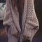 Loose bat sleeve knit cardigan sweater jacket