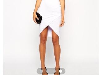 skirt black asymmetrical