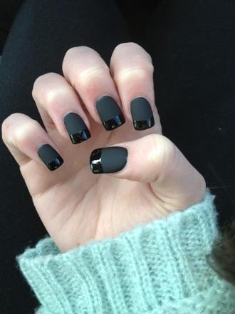nail polish black black matte nail polish black nail polish matte matte nail polish matte black dark nail polish