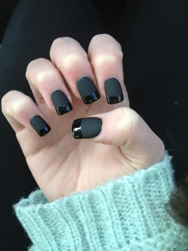 Black Nail Polish Essie Nail Polish Black Black Matte