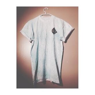 t-shirt gris perf