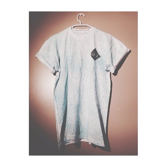 gris perf t-shirt
