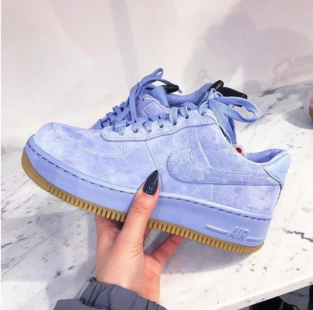 online retailer a186c 18e34 shoes nike blue lavender low force air force ones lavender low top air  force ones nike