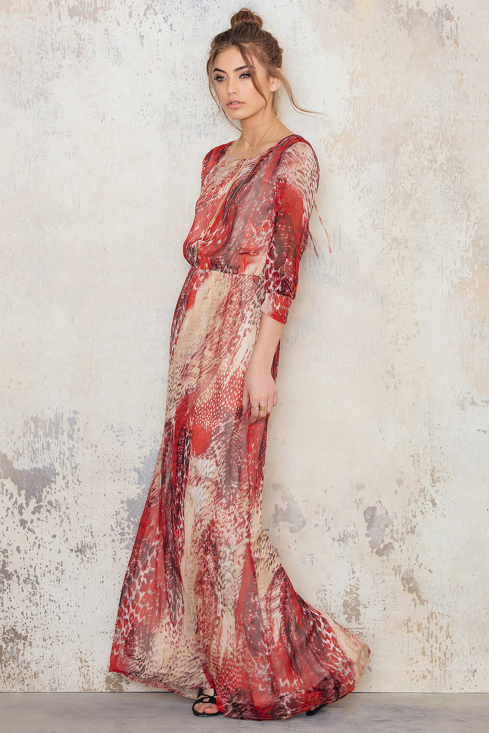Dry lake Ophelia Long Dress