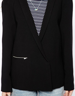 ASOS | ASOS Blazer With Zip Pocket at ASOS