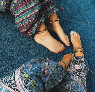 pants goa pant goa pants goa harem pants indian indie boho chic bohemian summer fancy pants fancy red lime sunday