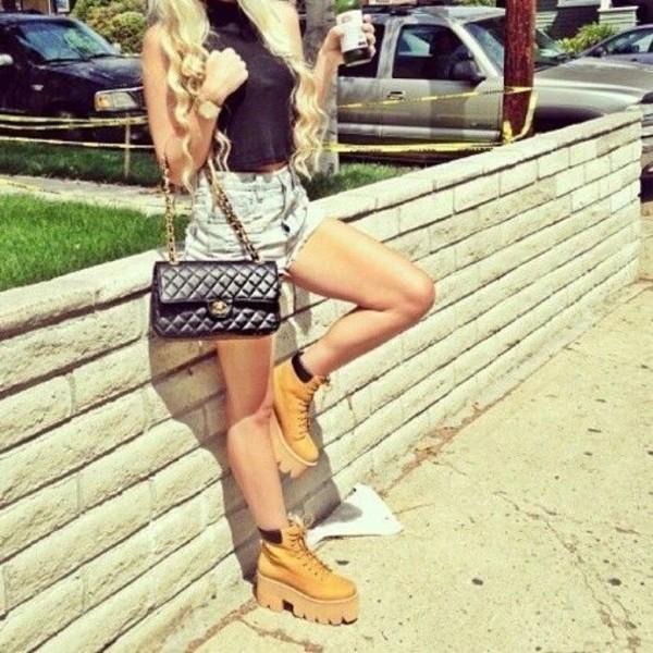 shoes jeffrey campbell nirvana boots timberlands blouse