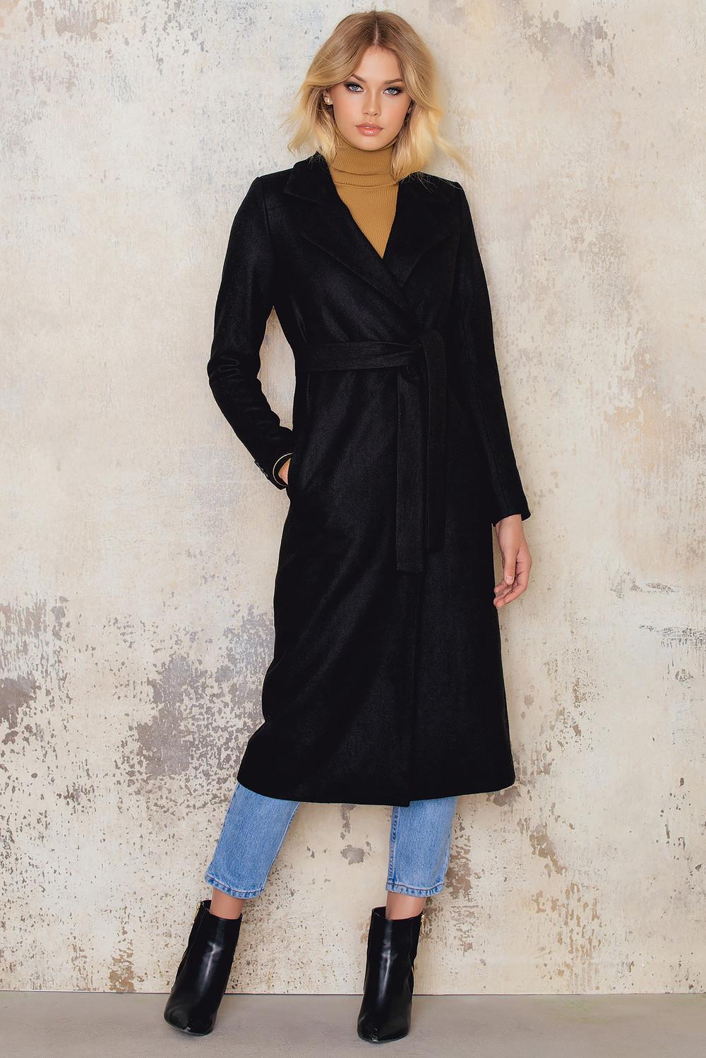 NA-KD Wool Coat