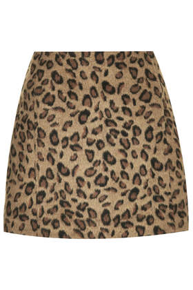 Leopard Print Pelmet Skirt - Skirts - Clothing - Topshop USA