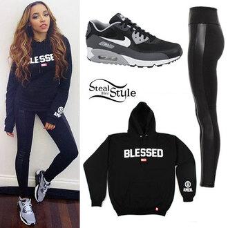 hoodie tinashe sports pants